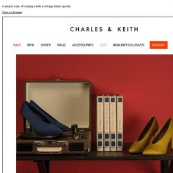 [Charles & Keith] READ MORE | RETRO VISION