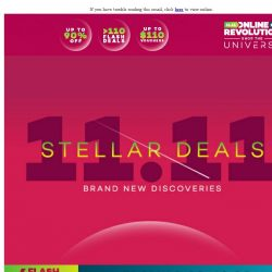 [Redmart] Lazada's One-Day-Only 11.11 Sale has the Best Deals! Shop The Universe Today!
