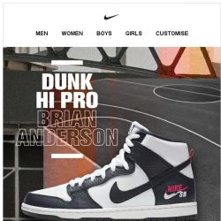 [Nike] Now Available: Nike SB Dunk 'Brian Anderson'