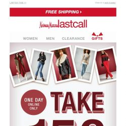 [Last Call] 💰 Take $150 off (one day online only)