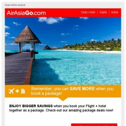 [AirAsiaGo] Planning a trip to Bangkok? Let us help you.