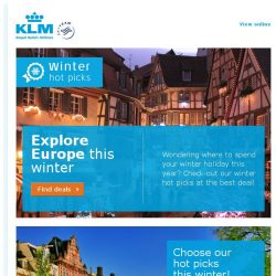 [KLM] Check out our winter destinations on sale from SGD 800!