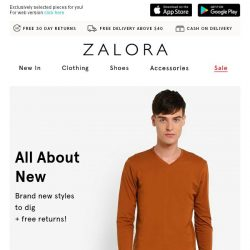 [Zalora] 💬 What should I wear this week?