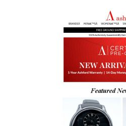 [Ashford] We've Got Your Next Certified Pre-Owned Timepiece