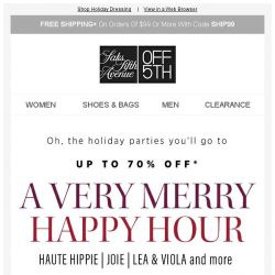 [Saks OFF 5th] Merry must-haves & festive faves from Akris, Joie & more
