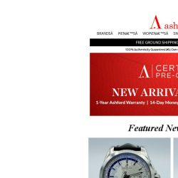 [Ashford] Certified Pre-Owned New Arrivals. Shop Now!