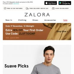 [Zalora] Your next outfit is inside (all under S$39.90)