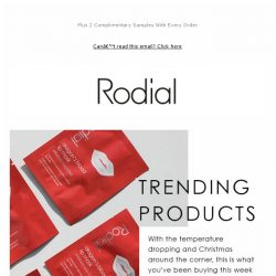 [RODIAL] Trending: What You've Been Buying This Week