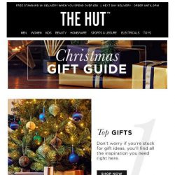 [The Hut] The Christmas Gift Guide