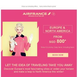 [AIRFRANCE] The clock is ticking! Winter deals will end soon