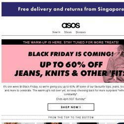 [ASOS] Up to 60% off jeans, knits and other 'fits