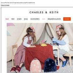 [Charles & Keith] READ MORE | PLAYDATE
