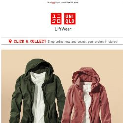 [UNIQLO Singapore] Flexible styles for fickle weather 🌤⛈