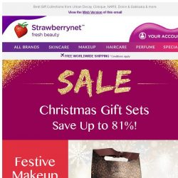 [StrawberryNet] 🎁Shop the Perfect Gift for everyone! Giftsets up to 81% Off