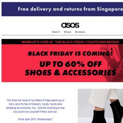 [ASOS] Up to 60% off shoes from adidas, Converse and more