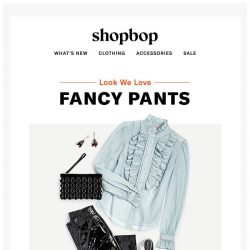 [Shopbop] Your no-brainer holiday party outfit