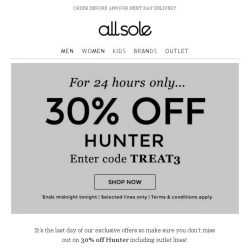 [Allsole] Blink and you'll miss it | The warm-up continues...