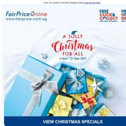 [Fairprice] A Jolly Christmas For All!