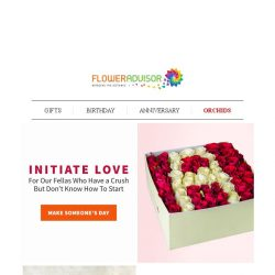 [Floweradvisor] [LOVE TIPS] Test The Waters with These Romantic Gifts