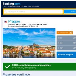 [Booking.com] Prices in Prague dropped again – act now and save more!