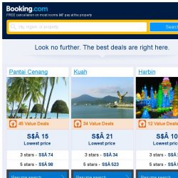 [Booking.com] Pantai Cenang, Kuah, or Harbin? Get great deals, wherever you want to go