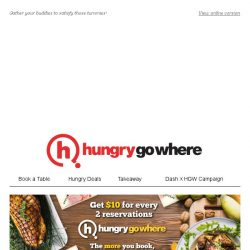 [HungryGoWhere] 1-for-1 Festive Buffet, 3rd Dines Free, & more Buffet indulgences!