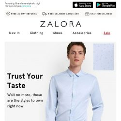 [Zalora] Level up: Here's your personal stylist!