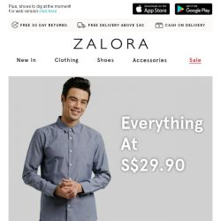 [Zalora] Everything at S$29.90: These are the pieces you need to see