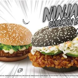 McDonald's: NEW Ninja Chicken Burger!