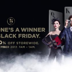 Robinsons: Black Friday Sale with Up to 80% OFF Storewide & FREE iPhone X, iPhone 8 Plus & iPad!