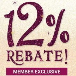 TANGS: 12% Rebate for Members + Up to 20% OFF Kids & Fashion, Beauty & More