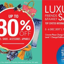 The Fashion Gallery: Friends & Family Luxury End of Year Sale with Up to 80% OFF