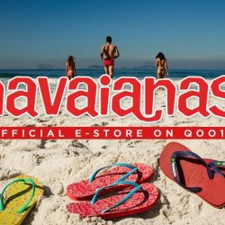Havaianas: Enjoy 60% OFF Authentic Flip-Flops on Qoo10!