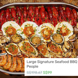 BBQ Box: 50% OFF Large Signature Seafood BBQ Hotpot for Up to 6 People!