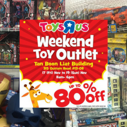 "Toys""R""Us: Weekend Toy Outlet Sale with Up to 80% OFF Toys & Games"