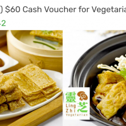 Lingzhi Vegetarian Restaurant: Enjoy 30% OFF Vegetarian Cuisine from Monday to Friday