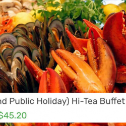 Carousel: Enjoy 20% OFF Weekend Hi-Tea Buffet for 1!