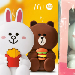 McDonald's: NEW LINE FRIENDS Handheld Fans at $6 Each!