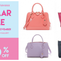 Isetan Scotts: Samantha Thavasa Bazaar Sale with Up to 80% OFF + Additional 10% OFF Bags & Wallets