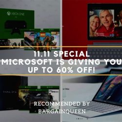 Microsoft Store: Biggest Sale EVER On Surface Pro & Xbox This Double 11!