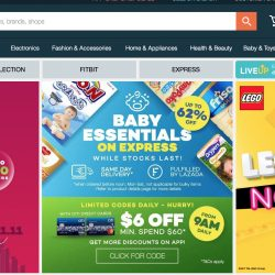 Lazada: Coupon Code for 18% OFF Your First Order