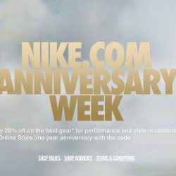 Nike: Enjoy 20% OFF Storewide Online with Coupon Code!