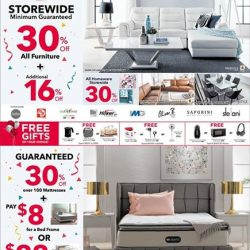 [Harvey Norman] Join us at Harvey Norman Mighty 16th Anniversary Sale this weekend at Millenia Walk Flagship Superstore!