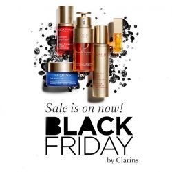 [Clarins] BlackFriday Sale is now happening on www.