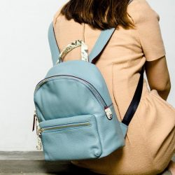 [Gracious Aires] Feminine backpacks are always hard to find.