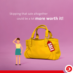 [OCBC ATM] When you shop at a sale, are you really saving?
