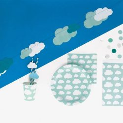 [Dreams & Confetti] Super cute cloud themed partyware.