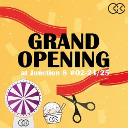 [City Chain Primo] Join us this Saturday as we celebrate the Grand Opening of our relocated outlet at Junction 8 02-24/25!