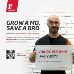 [Fitness First] MOVEMBER GIVEAWAY: Share your mo, and save a bro!