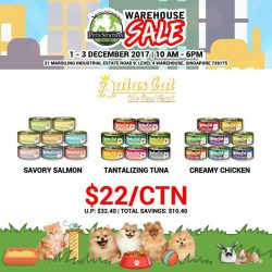[Pets' Station] PSWarehouseSale SNEAK PREVIEwCheap Carton Deal from AATAS CAT🐱 Join us this weekend for more carton deals!